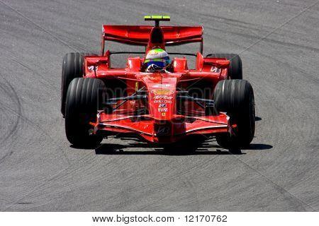 Felipe Massa, Brazil of Scuderia Ferrari Malboro, F1 team 2008