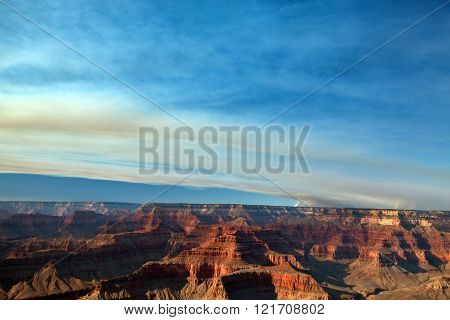 Grand Canyon Fire