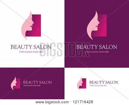 Beauty Salon Square Logo