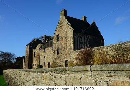 Castle at Aberdour