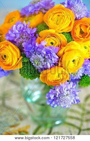 Beautiful bouquet of flowers.