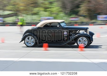 Hot Rod In Autocross