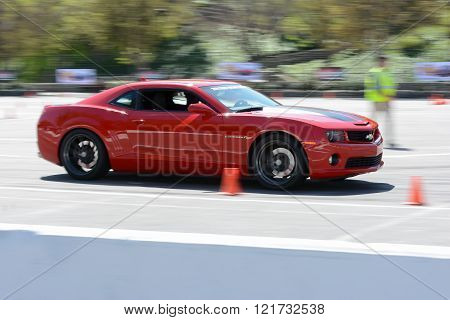 Chevrolet Camaro in autocross