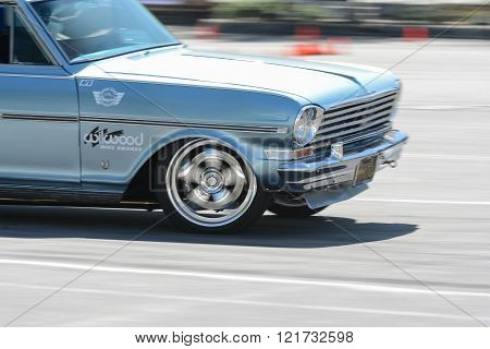 Chevy Nova SS in autocross