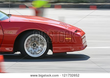 Pontiac Trans Am Gta Convertible In Autocross