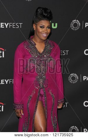 LOS ANGELES - MAR 11:  Ta'Rhonda Jones at the PaleyFest Los Angeles - Empire at the Dolby Theater on March 11, 2016 in Los Angeles, CA