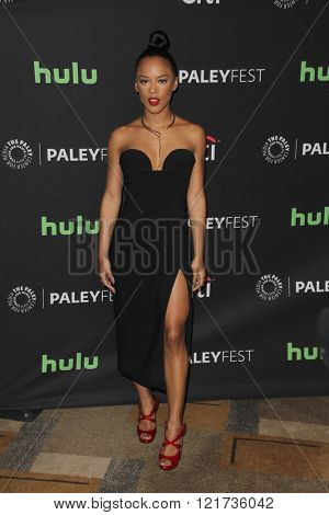 LOS ANGELES - MAR 11:  Serayah McNeill at the PaleyFest Los Angeles - Empire at the Dolby Theater on March 11, 2016 in Los Angeles, CA
