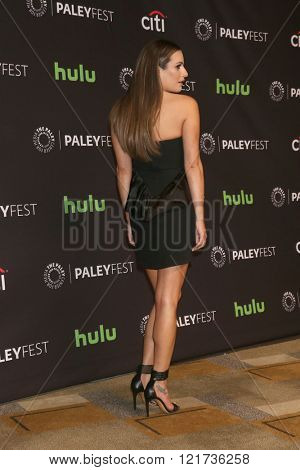 LOS ANGELES - MAR 12:  Lea Michele at the PaleyFest Los Angeles - Scream Queens at the Dolby Theater on March 12, 2016 in Los Angeles, CA