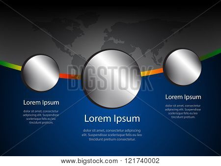 World Business Elegant Abstract Background