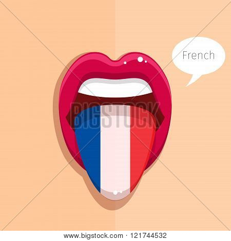 French language concept.