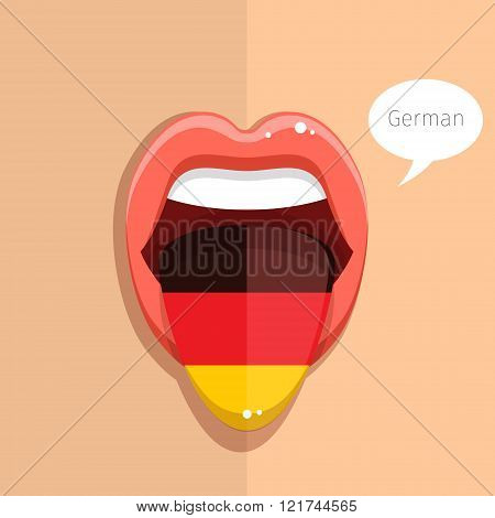 German language concept.