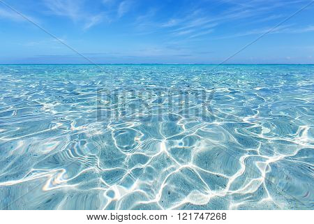 Perfect Beach White Sand Turquoise Water