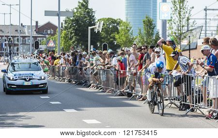 The Cyclist Michael Matthews - Tour De France 2015