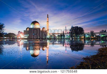 Magical Sunrise At Masjid As Salam, Puchong