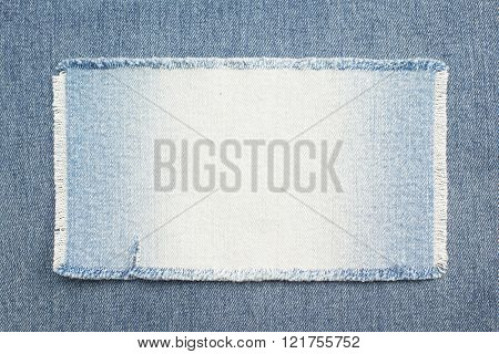 blue jeans as background texture