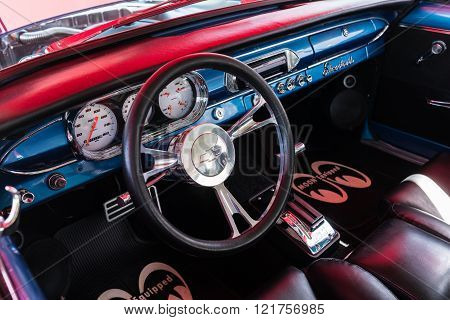 Chevrolet Dashboard On Detail