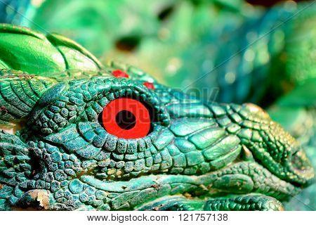 Red eye dragon