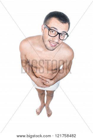Bare Man Standing