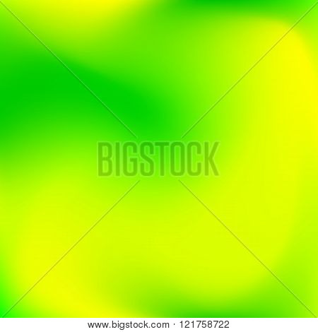 Abstract Blue And Green Color Background