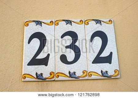 Number 232