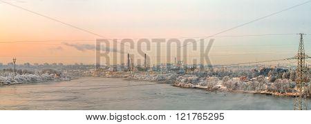 Nemunas River Panorama