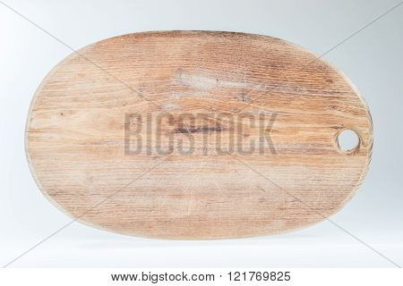 Old wooden cutting board