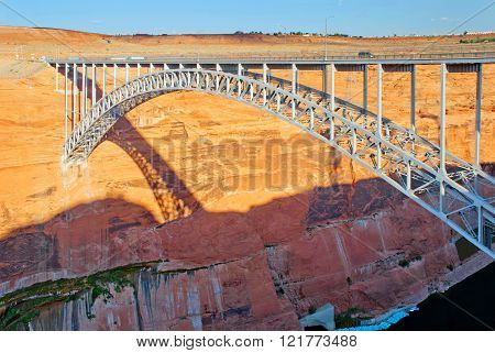 Bridge Over The Glen Canyon, Arizona