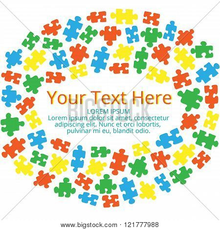 Text box with puzzles 03