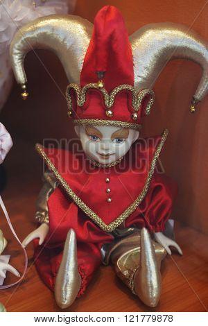 little porcelain doll