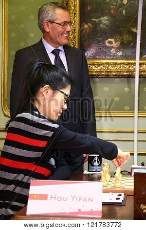 Fide Women's World Chess Championship Match Mariya Muzychuk Vs Hou Yifan