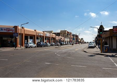 Colonial German Architecture In Swakopmund
