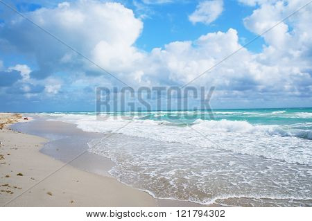 South Beach Of Miami