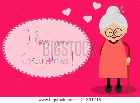 Grand parents's day card.
