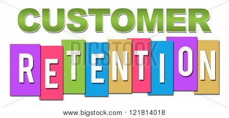 Customer Retention Professional Colorful