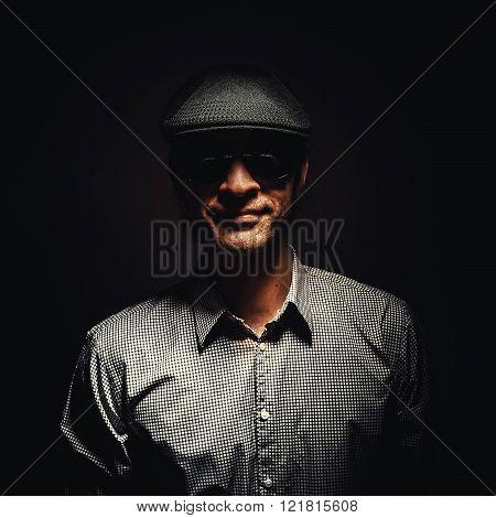 Portrait Of A Cool Man