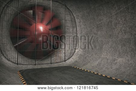 Giant Wind Tunnel