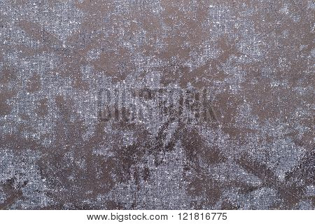 Abstract Spotty Texture Fabric Of Pale Color