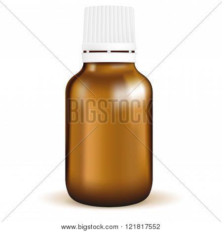 Medical bottle for pills.