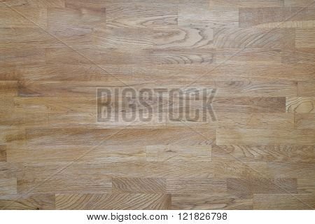 Detailed Picture Of The Surface Of An Old Wooden Table