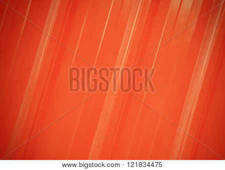 red sheet metal