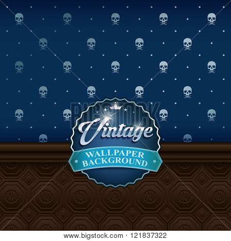vintage wall background3
