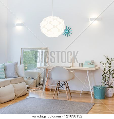 Decorative Lighting In Cosy Interior