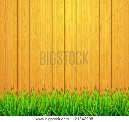 Garden Fence Background