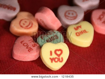 I Love You Candy For Valentine'S Day 2