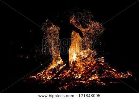 Sirni Zagovezni Fire Jumping