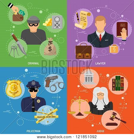 Crime and Punishment Banners