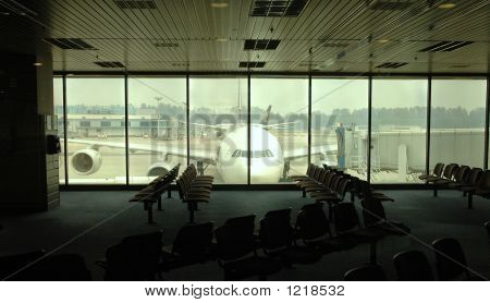 Waiting Area In Airport
