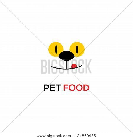 Vector Pet Food icon