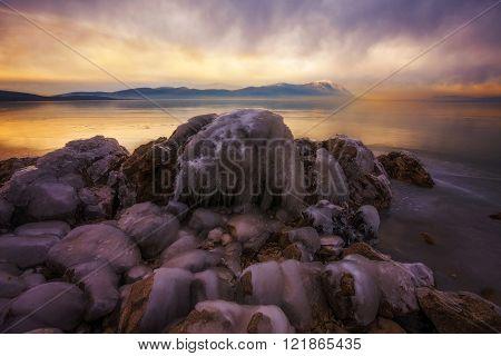 Busko lake in Bsnia and Herzegovina