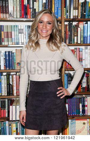 HUNTINGTON, NY-MAR 15: Kristin Cavallari signs copies of her book